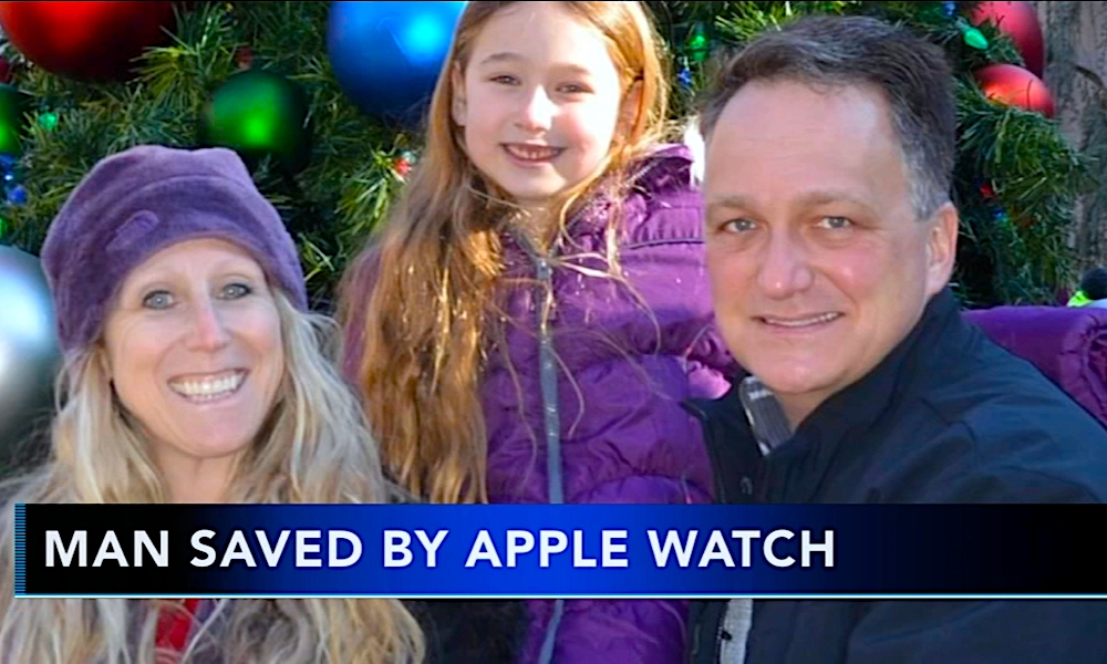 Man's Life Saved After Apple Watch ECG Detects Deadly Heart Condition