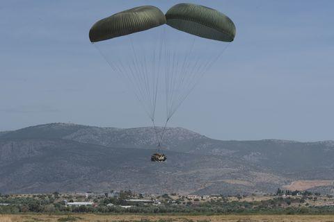 U.S. Air Force Accidentally Drops Humvee on Civilian Neighborhood
