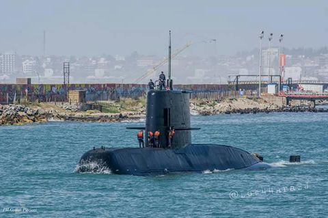 Drones Are Looking for the Lost Sub That Disappeared One Year Ago
