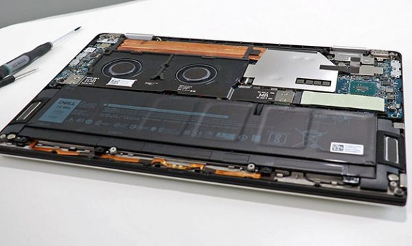Dell XPS 15 2-In-1 Teardown Exposes Massive Battery, Upgradable SSD