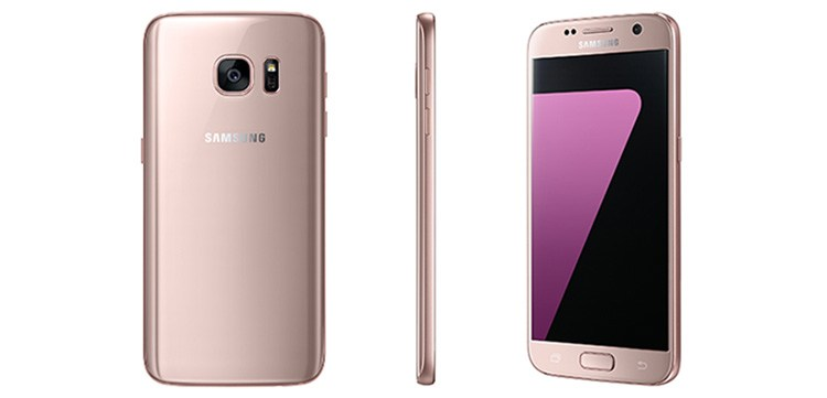 Samsung Announces Pink Gold versions of the Galaxy S7 and S7 Edge