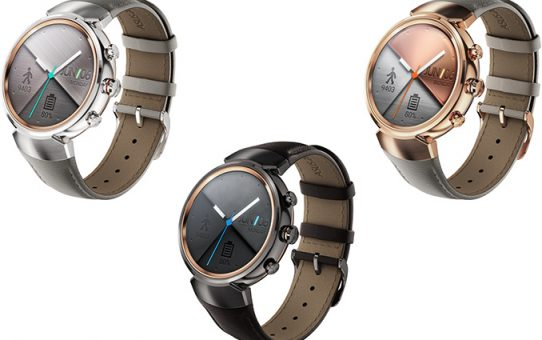 Asus ZenWatch 3 Android Wear Smartwatch Launched