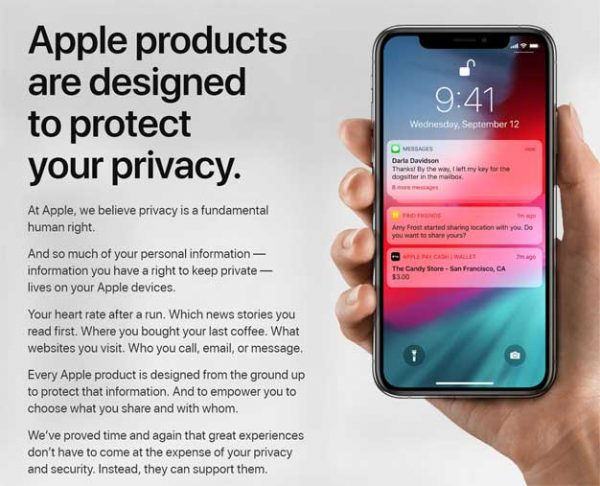 Apple Overhauls Privacy Page And Allows U.S. Customers To Download All Of Their Data