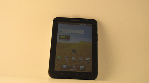 What is the life time of Samsung Galaxy Tab?