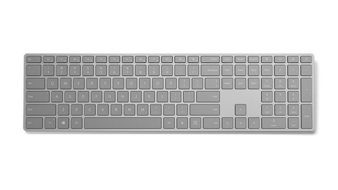 Microsoft Puts Built-In Fingerprint Sensor On Its 'Modern Keyboard' (Updated)