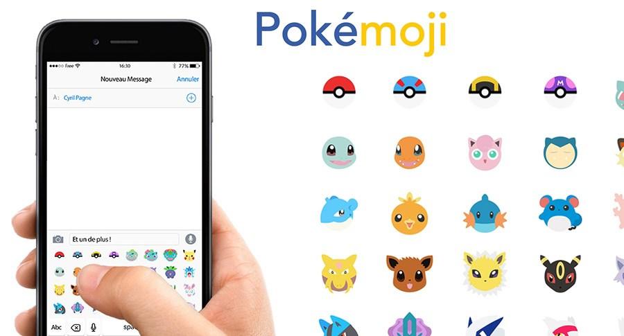 Now Pokemon Are Emoji With the Pokemoji Keyboard