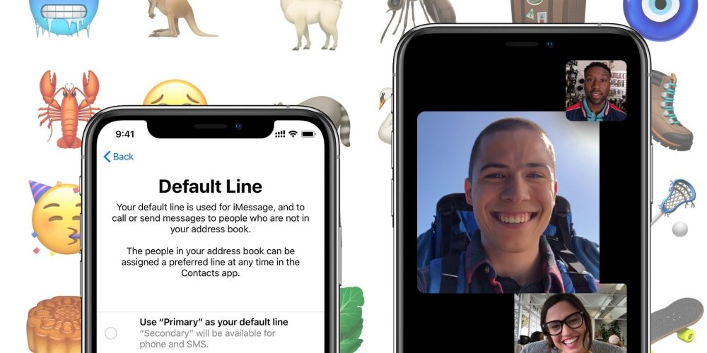 Apple releasing iOS 12.1 tomorrow with Group FaceTime, new emoji, more
