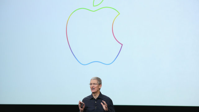 Apple bought back $56 billion of its own stock in 2014