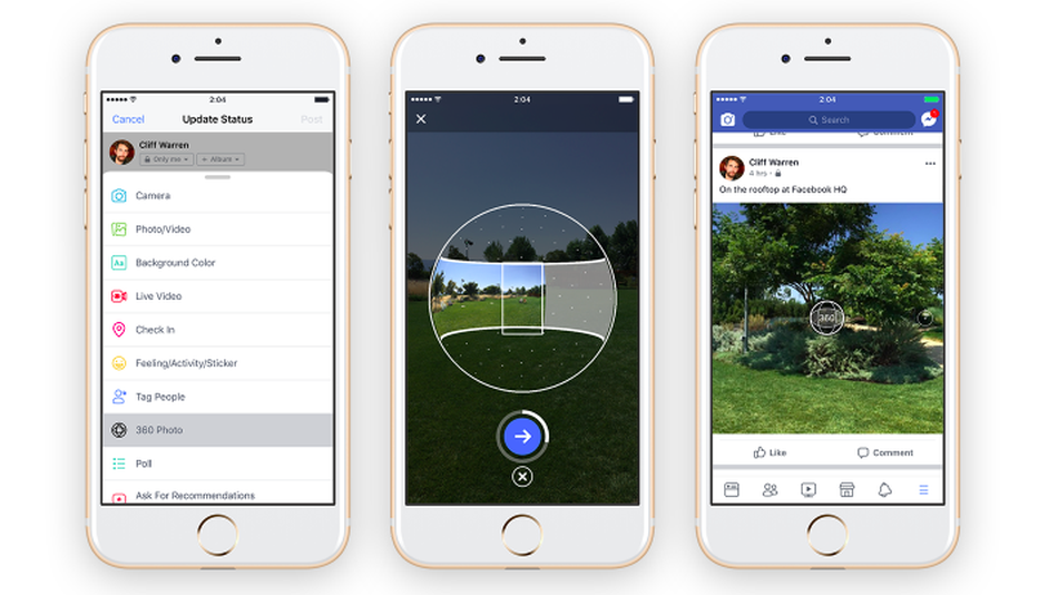 Facebook wants to fix your crooked 360-photos