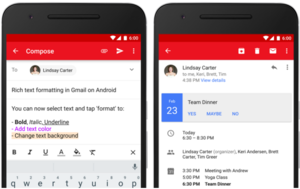 GMAIL ANDROID APP LETS USERS EASILY SIGN UP FOR MEETINGS