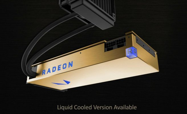 AMD's Liquid-Cooled Vega Frontier Edition Available For $1,490