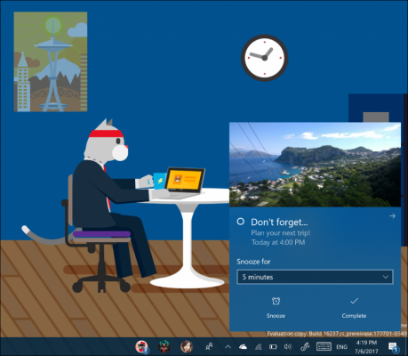 Windows 10 Insider Preview Build 16237 Brings Many Small Improvements