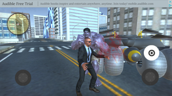 'Man fighting in the middle of town' is not Grand Theft Auto for iOS