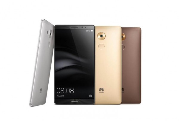 Huawei launches Mate 8 smartphone