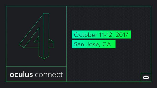 Facebook announces dates for its Oculus Connect 4 conference