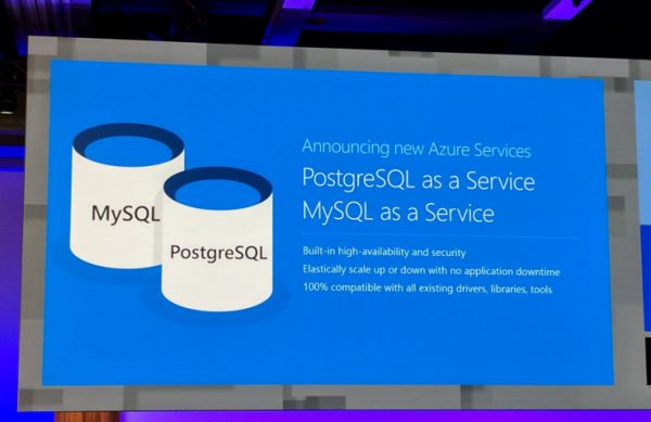 Microsoft launches Azure Database for MySQL and PostgreSQL