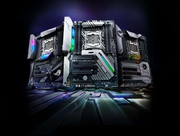 Asus Opens Pre-Orders On Five X299 Motherboards