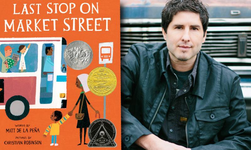 Author Matt de la Peña: Diverse Books Empower Students