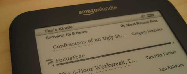 How to Read PDF Files on Your Amazon Kindle (Version 3)