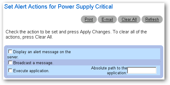 Setup Email Notifications for Dell Server Hardware Alerts