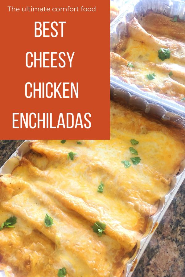The best cheesy sour cream enchiladas