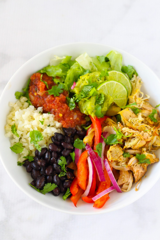 Jackfruit Carnitas Burrito Bowl