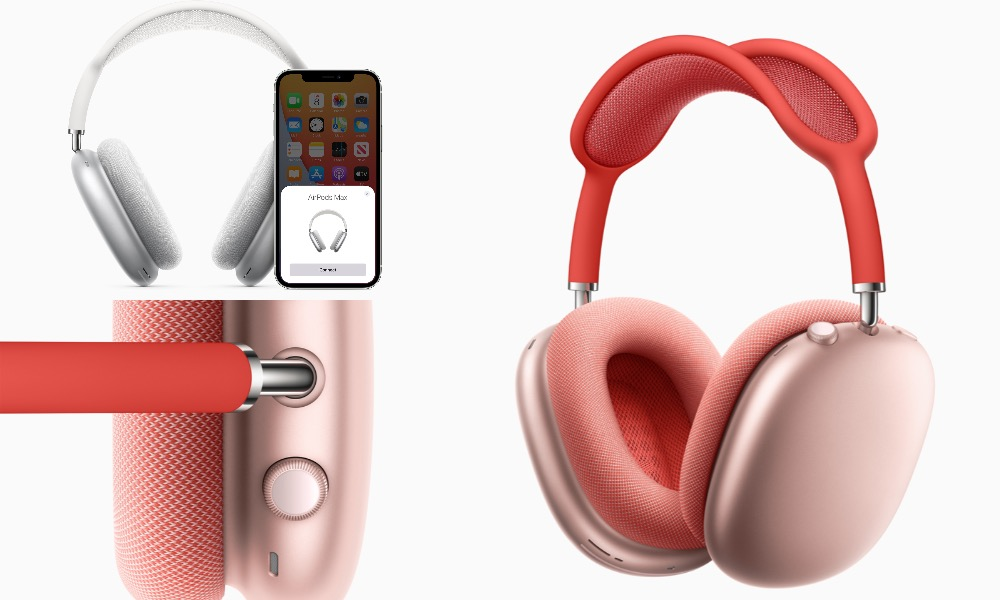 They're Here! Apple Unveils Long-Awaited $549 AirPods Max Over-Ear Headphones with Active Noise Cancellation and Adaptive EQ
